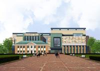 Проект фасада музея В.С.Черномырдина