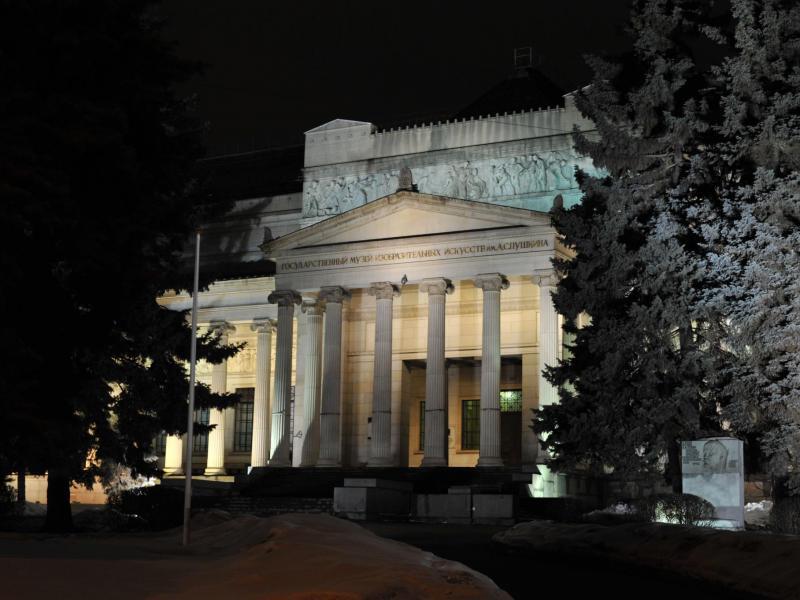 Здания и сооружения: Государственный музей изобразительных искусств им. А.С. Пушкина