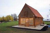 Голландский домик Петра I в Коломенском (копия)