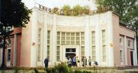Здание кинотеатра, где расположен Ярцевский  районный историко-краеведческий музей