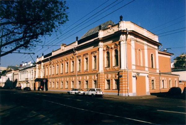 Здания и сооружения: Выставочные залы Российской Академии художеств