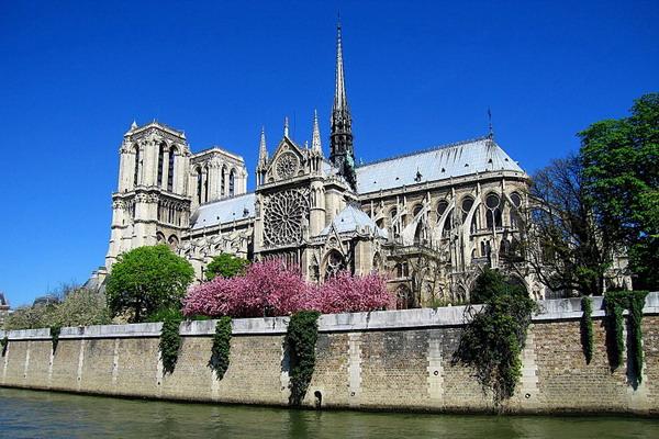 Здания и сооружения: Собор Парижской Богоматери