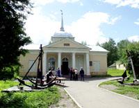 Здания и сооружения: Музей Ботик. Фото А.Лебедева
