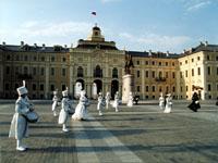 Южный фасад Дворца. Плац