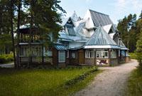Cеверный фасад дома