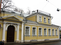 Здания и сооружения: Музей В.А. Тропинина и московских художников его времени