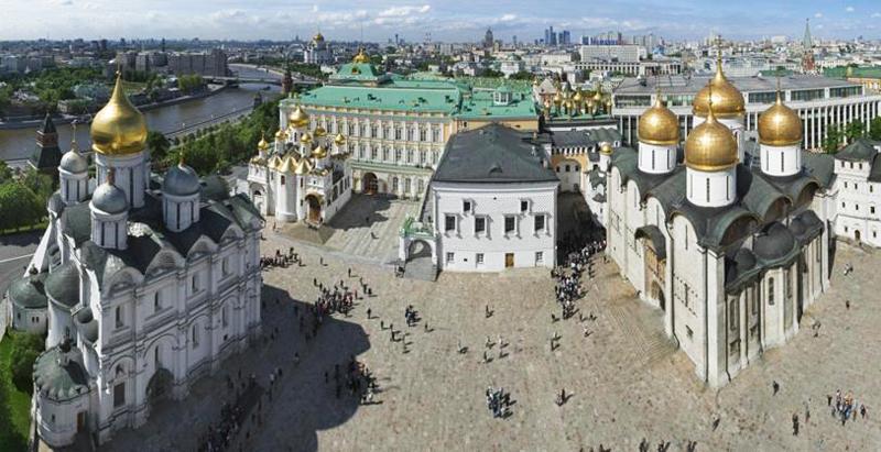 Здания и сооружения: Архитектурный ансамбль  Московского Кремля