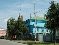 Музей-заповедник Родина В.И. Ленина.  Административное здание