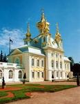 Б. К. Растрелли. Церковь Большого дворца Петергофа