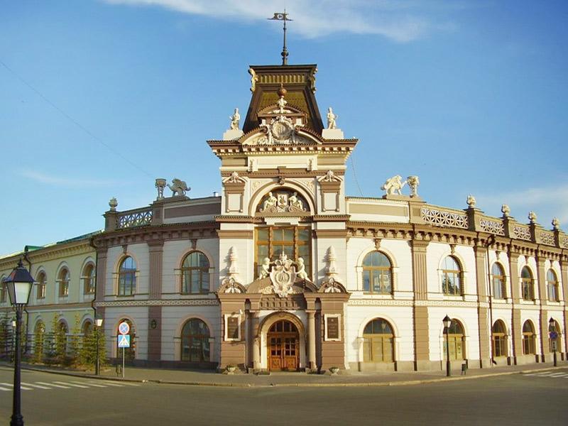 Здания и сооружения: Национальный музей РТ