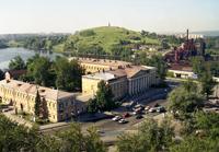 Вид на музейный комплекс Горнозаводской Урал