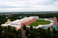 Вид на Екатерининский дворец