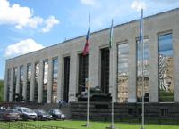 Вид на главное здание Центральног музея Вооруженных сил