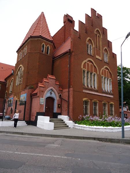 Здания и сооружения: Музей Балтийского флота. Фото  Александра Кузнецова, 11 июля 2014 г.