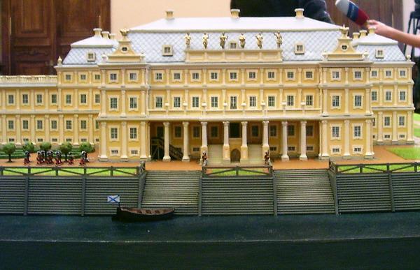 Здания и сооружения: Дворец Меншикова в 1725 году