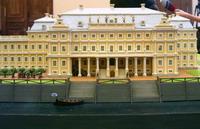 Дворец Меншикова в 1725 году