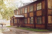 Здание Колпашевского краеведческого музея