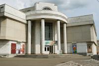 Мраморное здание музея