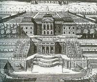 Ж.-Б. Леблон. Петергофский дворец Петра I