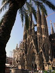 Здания и сооружения: Антонио Гауди. Саграда да Фамилиа (Собор Святого семейства). Барселона
