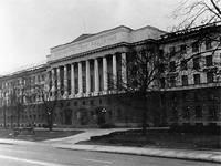 Современное здание Военно-морской академии, построенное в 1945г.