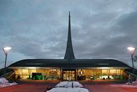 Здания и сооружения: Вход в Мемориальный музей космонавтики