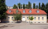 Управа - сейчас дом лютеранской общины и немецкая библиотека