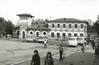Здание Одинцовского вокзала. Архитектор Л.Н.Кекишев 1900г