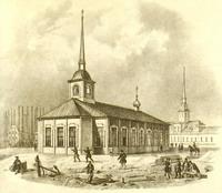 Первая церковь Исаакиевская церковь