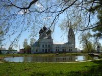 Церковь Воскресения, где находится Сусанинский краеведческий музей