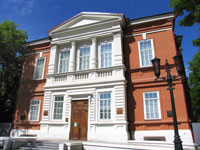 В.Л. Ефимкин. Здание музея. 2009. Радищевский музей