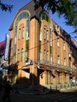 Здание, где находится музей  Русские валенки