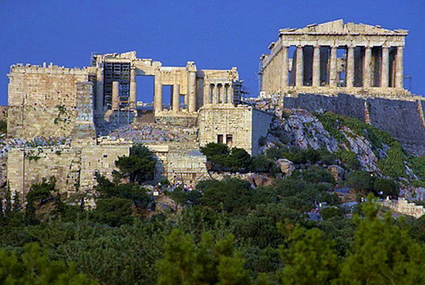 Здания и сооружения: Афинский акрополь