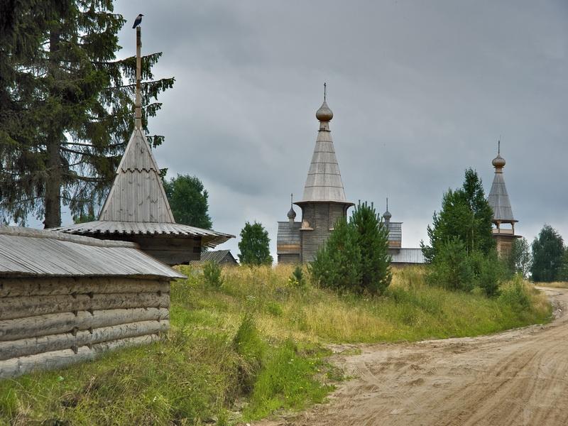 Здания и сооружения: Почозерский комплекс и ограда погоста, К. Кокошкин