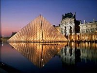 Здания и сооружения: Пирамида Лувра