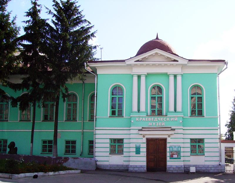 Здания и сооружения: Курский областной краеведческий музей
