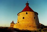 Здания и сооружения: Шлиссельбургская крепость Орешек