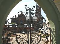 Дом Курлина. Ворота. Фото А. Лебедева