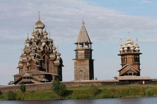 Здания и сооружения: Кижский погост