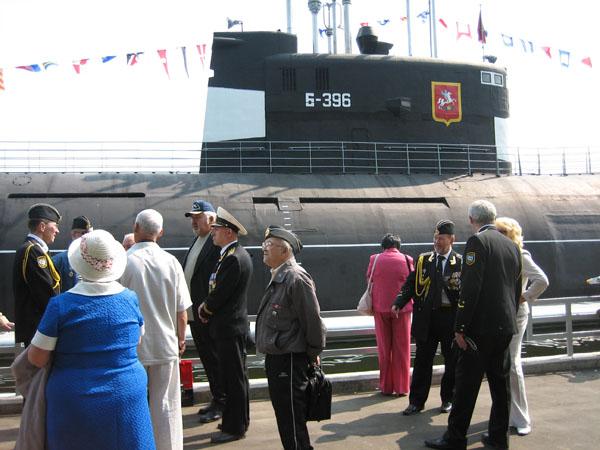 Здания и сооружения: Музей Подводная лодка открылся в день Военно-Морского флота