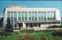 Здание Дома культуры, где размещен районный краеведческий музей