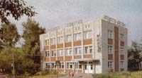 Здание, где находится Краснозерский художественно-краеведческий музей