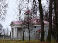 Усадебный дом бабушки А.С.Пушкина М.А.Ганнибал, вид со двора. Фото Е.Бабичевой