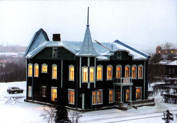 Здания и сооружения: Здание музея