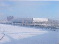 Центральный Дом художника зимой
