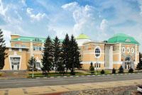 Белгородский государственный художественный музей. Вид с улицы Попова