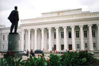 Казанский университет, в здании котрого находится Ботанический музей