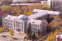 Вид здания Новосибирского государственного художественного музея