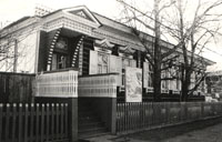 Здание, где расположен Акшинский краеведческий музей (фото 1989 г.)