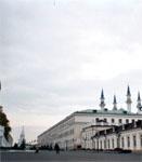 Здание, где находится Музей-мемориал Великой Отечественной войны